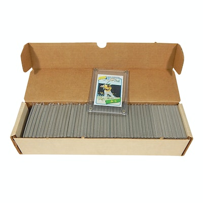 1980 Topps Complete Baseball Card Set with Ricky Henderson Rookie Card