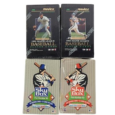 Upper Deck Factory Sealed Baseball Card Sets 1989 1990