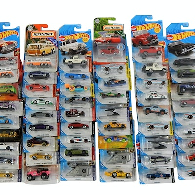 2017 and 2018 Sealed Hot Wheels and Matchbox Toy Cars