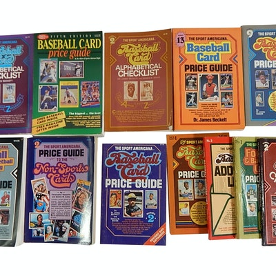 Baseball Price Guides, Non-Sports Guides, Baseball Master Guides