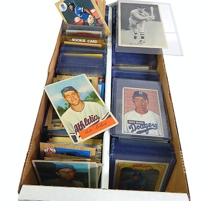 Top Loaded Baseball Cards with 1962 Babe Ruth, Tony Gwynn Rookie and More