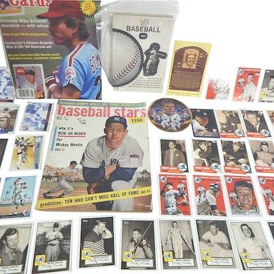 Mickey Mantle Baseball Cards and Memorabilia