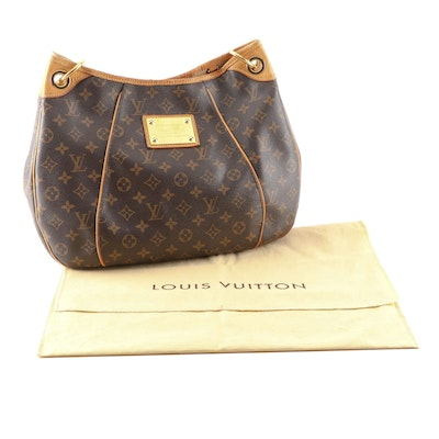 Louis Vuitton Monogram Galliera Inventeur Classic Hobo Bag