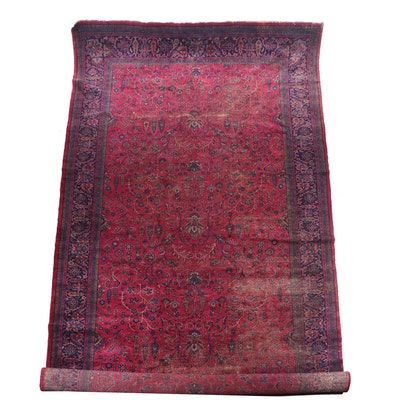 Hand-Knotted Persian Mehriban Wool Gallery Rug