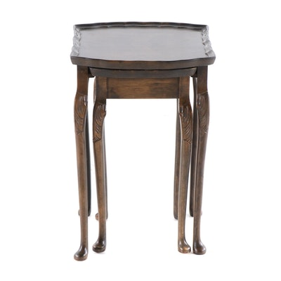 Bevan Funnell Ltd. Reprodux Nesting Tables, Mid to Late 20th Century