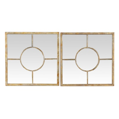 Contemporary Geometric Wall Mirrors