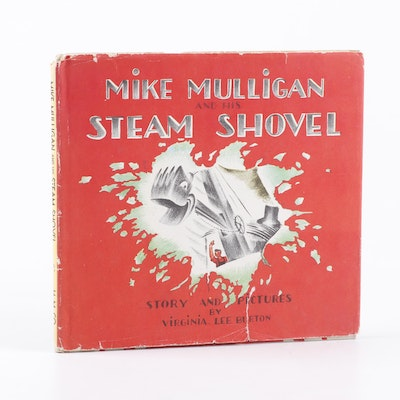 "First Edition ""Mike Mulligan and His Steam Shovel"" by Virginia Lee Burton, 1939"