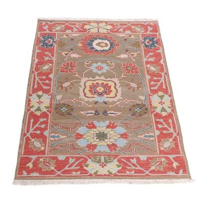 Handwoven Anatolian Wool Soumak Rug