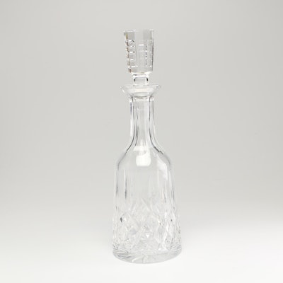 "Waterford Crystal ""Lismore"" Wine Decanter"