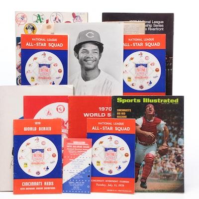 1970 Cincinnati Reds All-Star and World Series Memorabilia