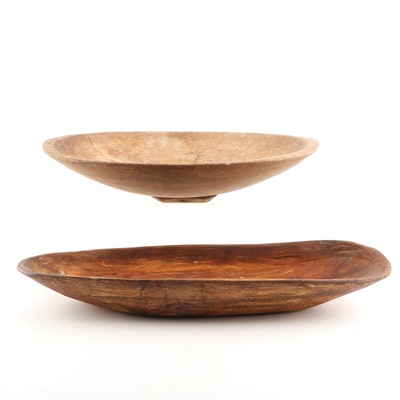 Hand Crafted Wooden Bowls featuring Winfred Vassey