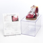 Kevin Durant Signed Nike Basketball Shoe, JSA Full Letter