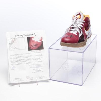 Kevin Durant Signed Nike Basketball Shoe, JSA Full Letter