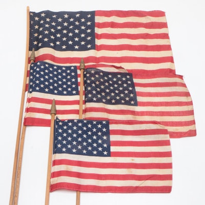 48-Stars American Parade Flags