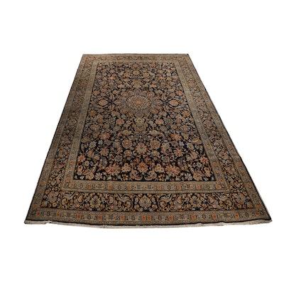 Hand-Knotted Pakistani Tabriz Room Sized Wool Rug