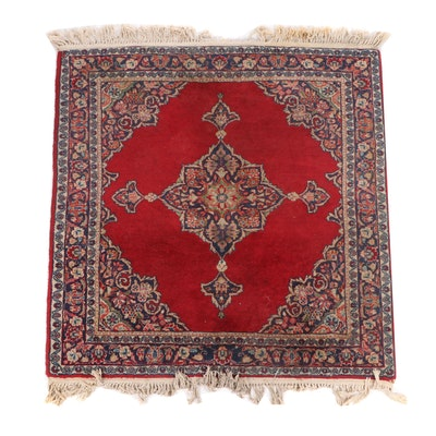 Power-Loomed Indo-Persian Wool Rug