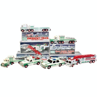 Hess Toy Trucks, Racecars and Other Automobiles