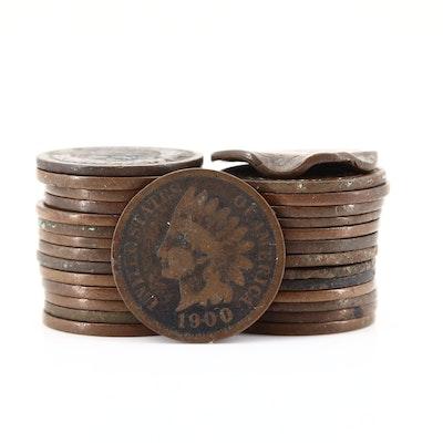 Twenty-Nine Indian Head Cents