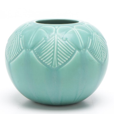 Rookwood Pottery Art Deco Earthenware Vase, 1937
