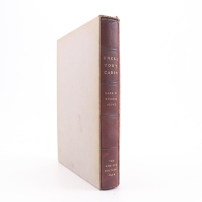 "The Limited Editions Club ""Uncle Tom's Cabin"" by Harriet Beecher Stowe, 1938"