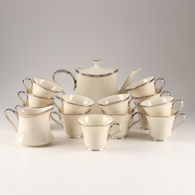 """Lenox China """"Solitaire"""" Coffee Service"""