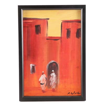 Abdul Acrylic Painting