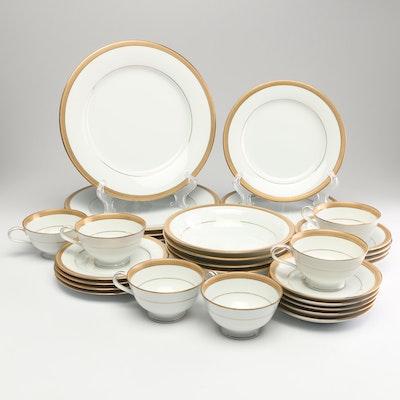 "Noritake ""Goldwyn"" Porcelain Dinnerware"