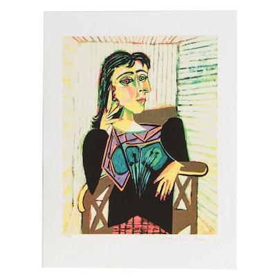 "Giclée after Pablo Picasso ""Portrait of Dora Maar"""
