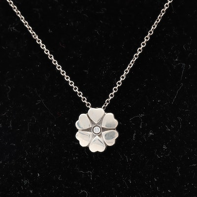 """Tiffany & Co Paloma Picasso """"Flower of Hearts"""" necklace"""
