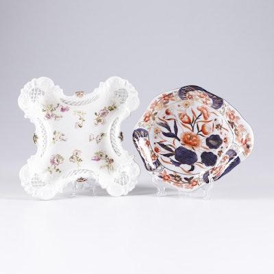 Hand Painted Decorative Floral Porcelain Bowls