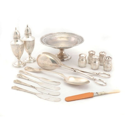 Sterling Serveware and Utensils with Kirk & Matz, Randahl and More