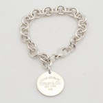 "Tiffany & Co ""Return to Tiffany"" Charm Bracelet"