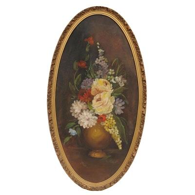 J. Meisel Still Life Oil Painting