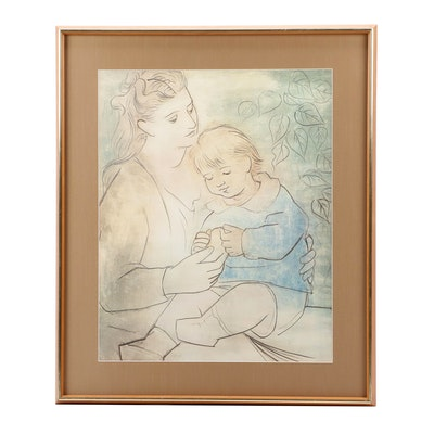 """Giclée After Pablo Picasso """"Mother and Child"""""""