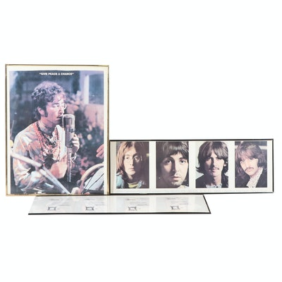 Beatles Offset Lithograph Posters and Ephemera