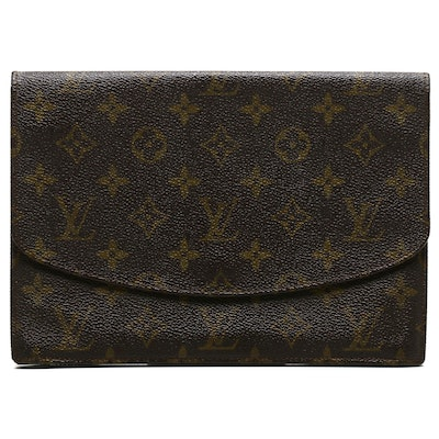 Louis Vuitton Monogram Canvas Pochette Rabat Clutch