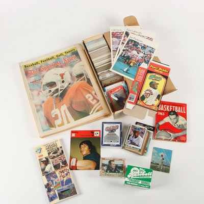 Baseball Cards & Other Sports Collectibles, Mid to Late 20th Century