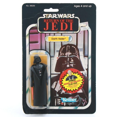 "1984 ""Star Wars: Return of the Jedi"" Darth Vader Action Figure"