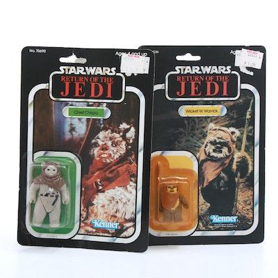 "1983 ""Star Wars: Return of the Jedi"" Ewok Action Figures"