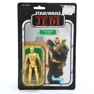 "1983 ""Star Wars: Return of the Jedi"" C-3PO Action Figure"