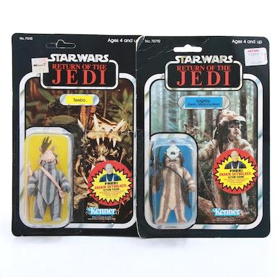 "1984 ""Star Wars: Return of the Jedi"" Ewok Action Figures"