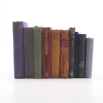 Antique and Vintage Books including Astronomy, Chemistry, Scottish Clans & More