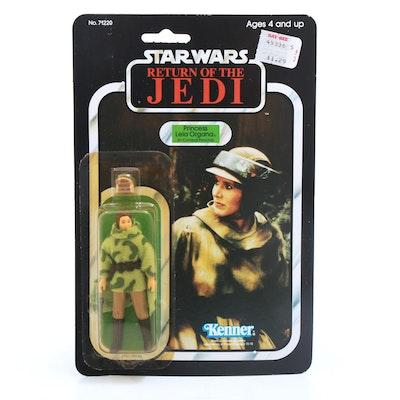 "1983 ""Star Wars: Return of the Jedi"" Princess Leia Organa Action Figure"