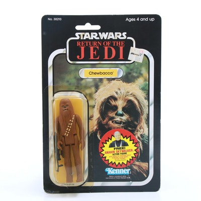 "1984 Chewbacca ""Star Wars: Return of the Jedi"" Action Figure"