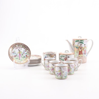 Chinese Hand-Painted Tea Set