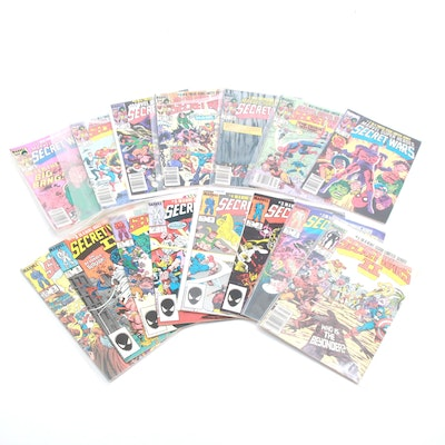 """Marvel """"Secret Wars"""" I and II with """"Wars II"""" Issue #1"""