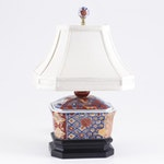 Japanese Imari Ceramic Table Lamp