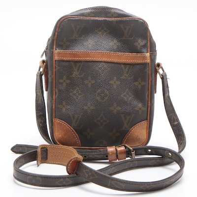 Louis Vuitton Danube Monogram Canvas Crossbody Bag