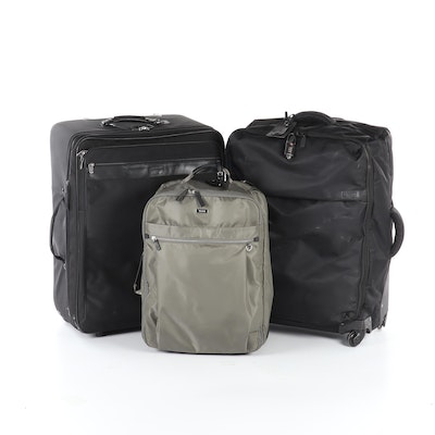 Tumi, Lipault and Hartmann Luggage in Nylon and Leather