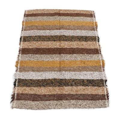 Handwoven Indian Wool Rug from Oscar Isberian
